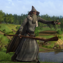 Gandalf just wouldn't be the same without his thorny staff.