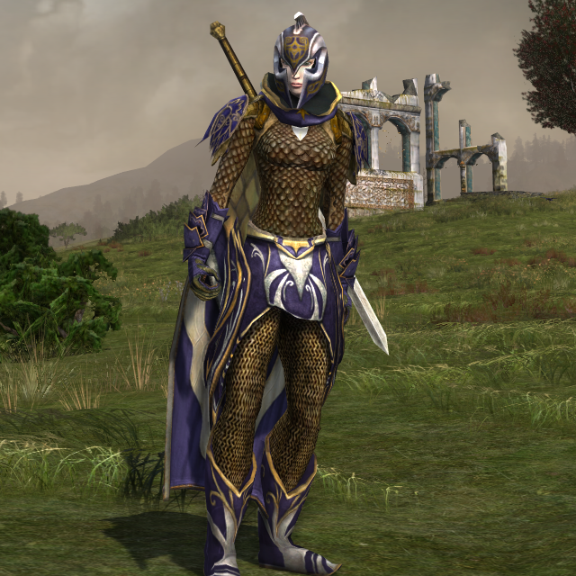 Bladebearer Of Eregion The Starry Mantle