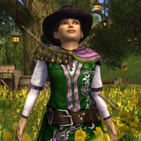Floral Archer
