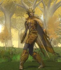 Golden Mallorn-sentry