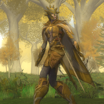 Golden Mallorn-sentry