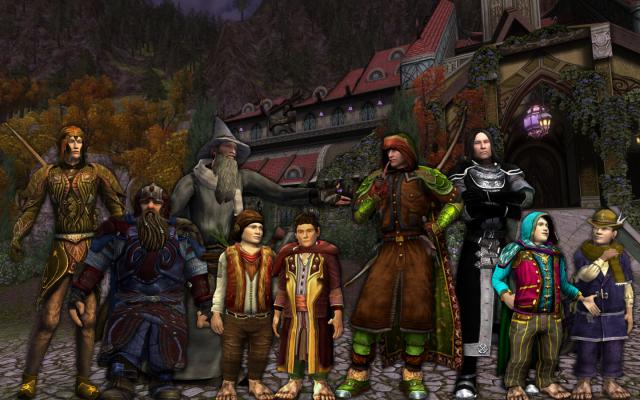 The Fellowship assembled