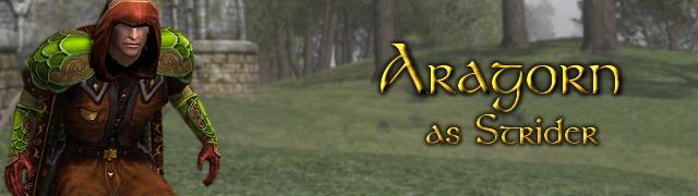 Aragorn as Strider button