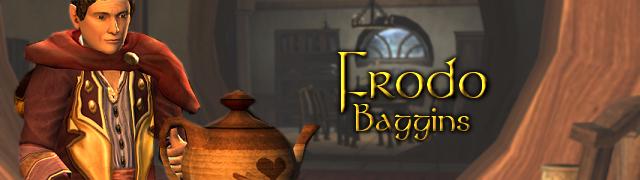 Frodo Baggins button