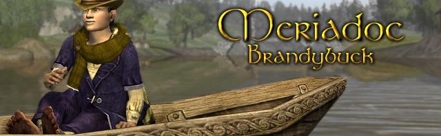Meriadoc Brandybuck button