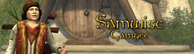 Samwise Gamgee button