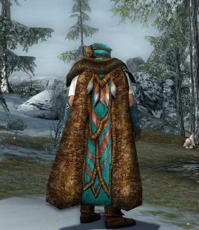 A hunter's mantle