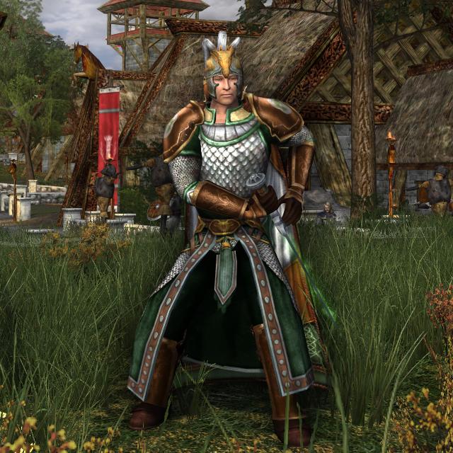 Captain of the Hornburg