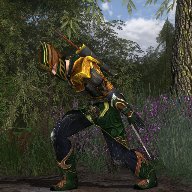 Warrior-scout of the Laegrim